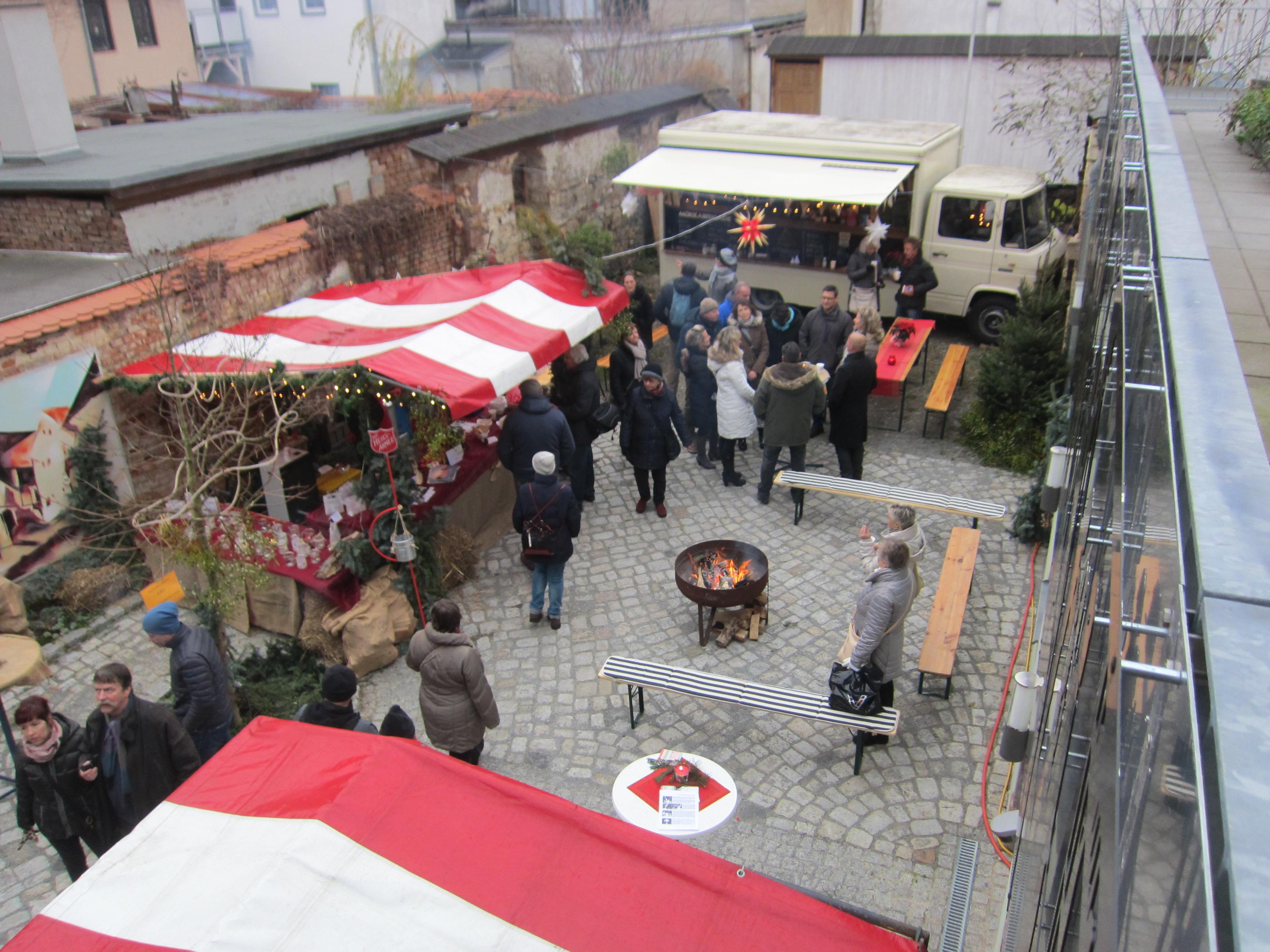 Weihnachtliches in den Höfen – Naumburger Bürgerverein