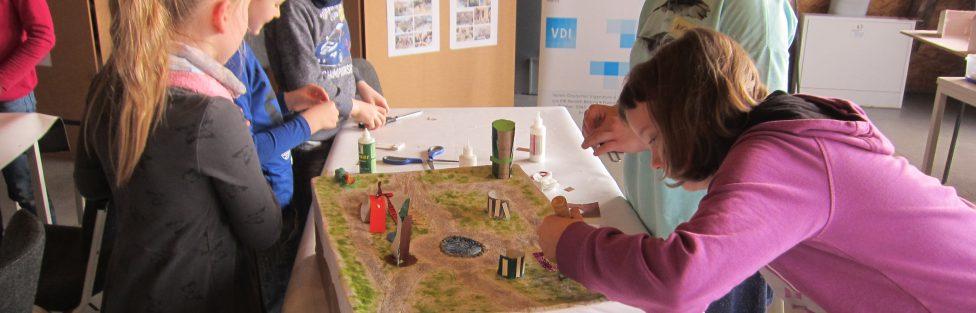 Schüler aus dem Georgentorhort, als Planer für einen schöneren Naumburger Stadtpark