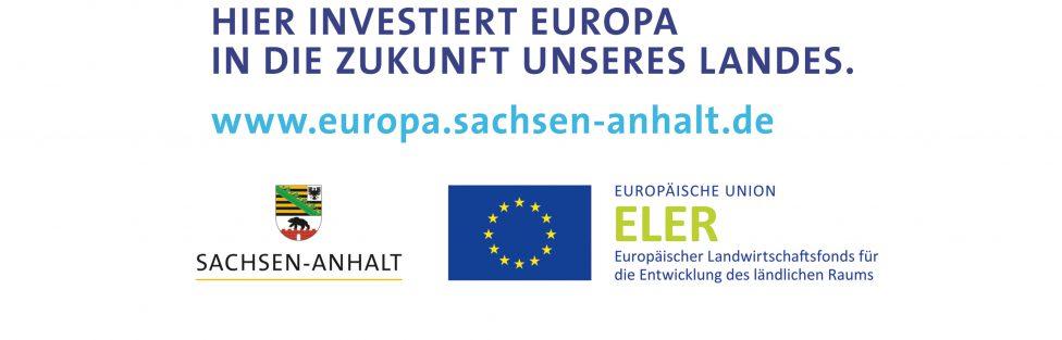 HIER INVESTIERT EUROPA IN DIE ZUKUNFT UNSERES LANDES